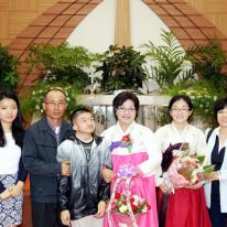 원로장로 추대, 집사은퇴 및 임직예식 기념사진 4 (가족사진모음)