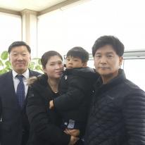 2019년 12월 등록 (김은수, 민정화 집사, 예담,하랑)