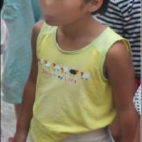 북한 소녀 모습