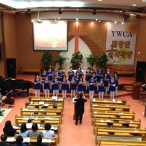 YWCA 합창단 순회헌신예배